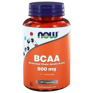 NOW BCAA 800 mg 120 capsules