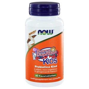 NOW BerryDophilus™ Kids Probiotica Kind 60 kauwtabletten