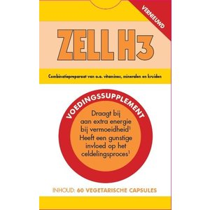 Zell H3 60 capsules