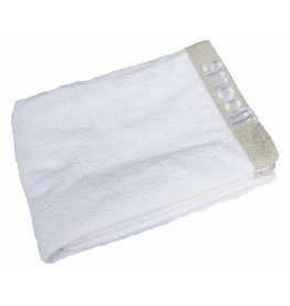 Towel Deluxe - White/Grey giftbox