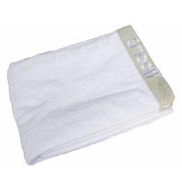 Towel Deluxe - White/Grey