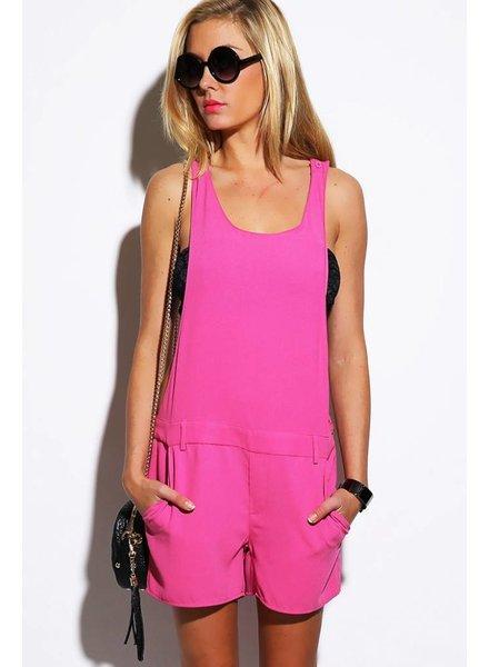 Roze overal/jumpsuit