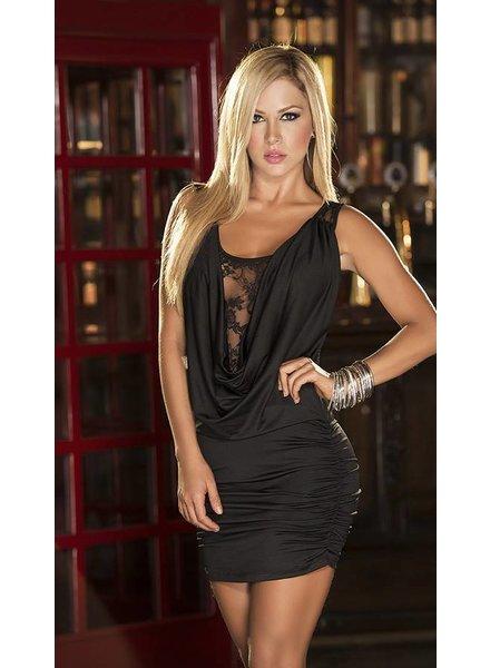 Espiral Lingerie Zwart jurkje met kant