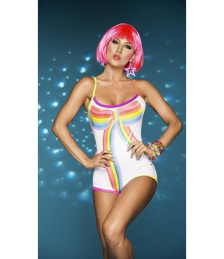 Espiral Lingerie Blacklight bodysuit