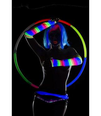 Espiral Lingerie Blacklight handschoenen neons
