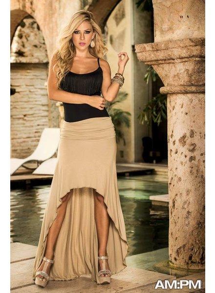 Espiral Lingerie Strapless jurk/rok mokka
