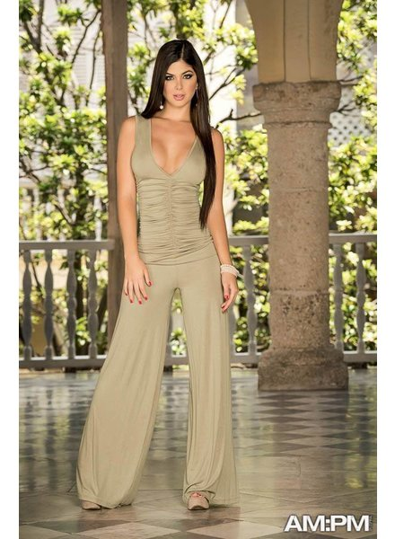 Espiral Lingerie Sexy mocca jumpsuit