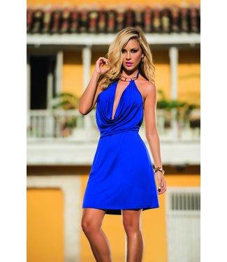 228e32a0e4c546 Espiral Lingerie Sexy jurkje blauw