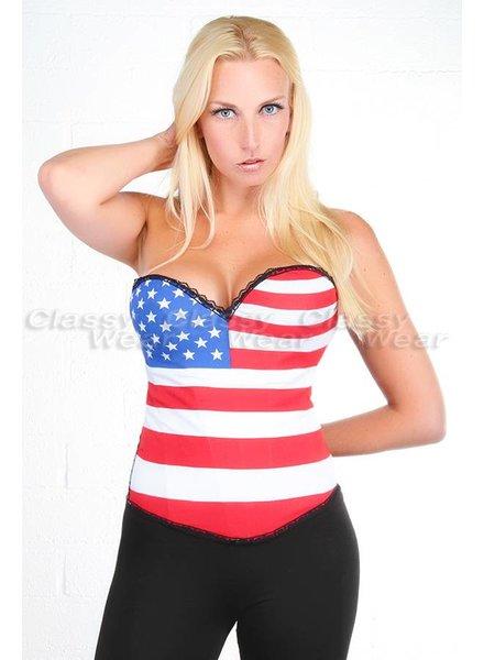 US overbust corset