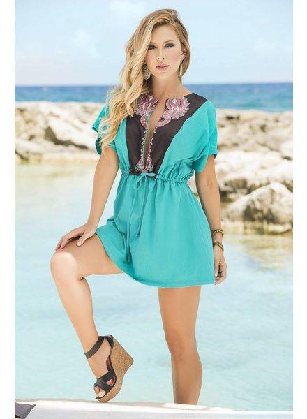 Espiral Lingerie Turquoise zomerjurkje
