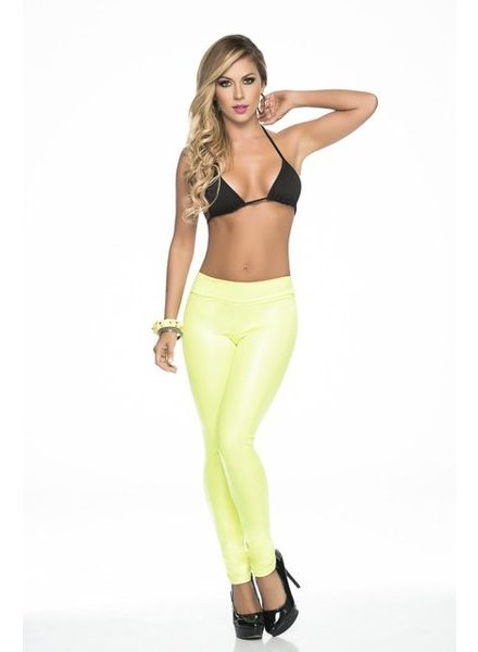 Espiral Lingerie Blacklight legging (geel)