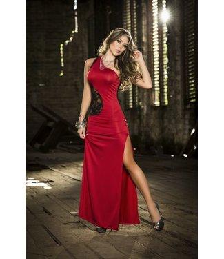 Espiral Lingerie Rode jurk met kant