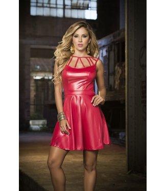 Espiral Lingerie Rode wetlook jurk