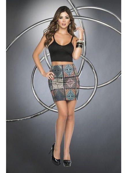 Espiral Lingerie Rok met print