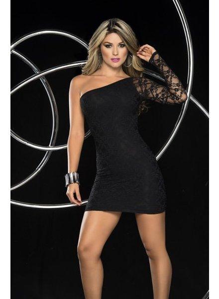 Espiral Lingerie Zwart kanten jurk