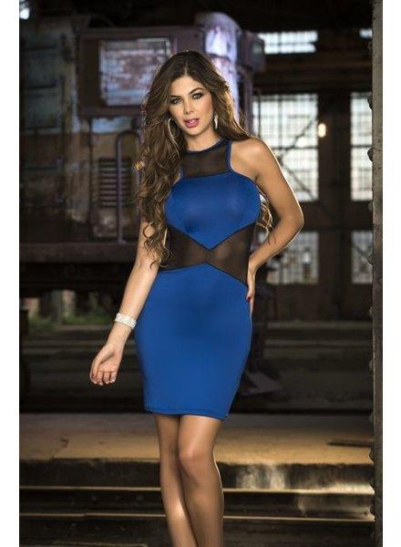 Espiral Lingerie Blauwe tank jurk