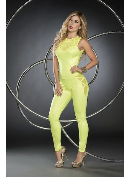 Espiral Lingerie Hot green jumpsuit