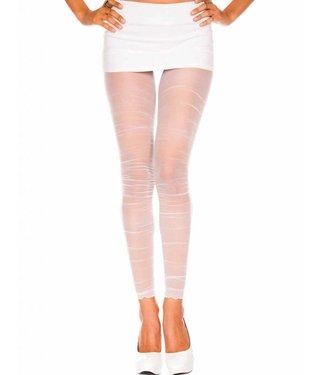 Music Legs Zwarte naadloze legging/panty