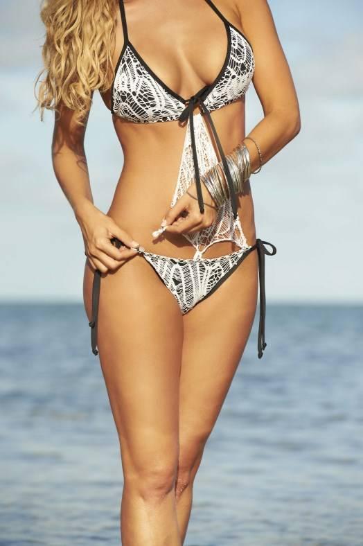 Espiral Lingerie Zwarte bikini/monokini
