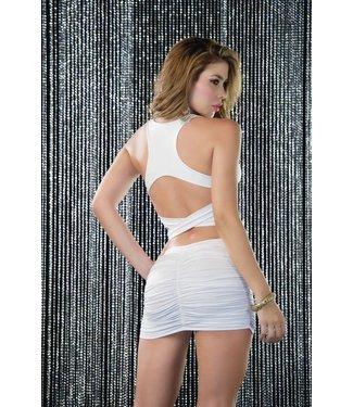 Espiral Lingerie Sexy wit jurkje met open rug
