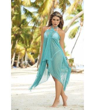 Espiral Lingerie Tuquoise zomerse strand jurk/rok
