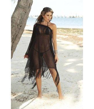 Espiral Lingerie Zwart zomerse strand jurk/rok