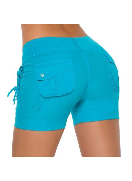 Espiral Lingerie Turquoise short