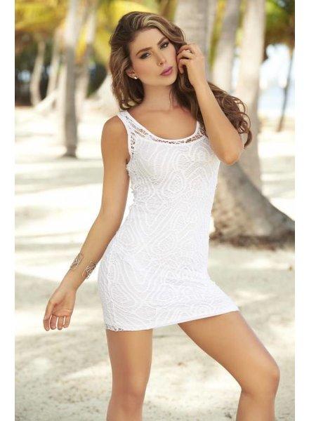 Espiral Lingerie 2-delig wit jurkje