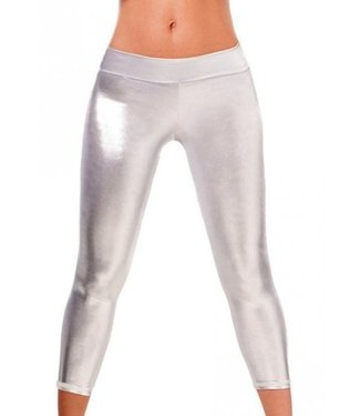 Espiral Lingerie Metallic silver legging