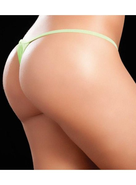 Espiral Lingerie String neon groen (wide back)