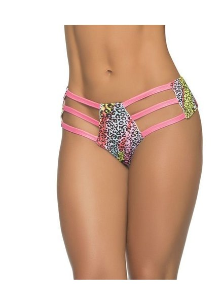 Espiral Lingerie Strappy hipster (tiger print)