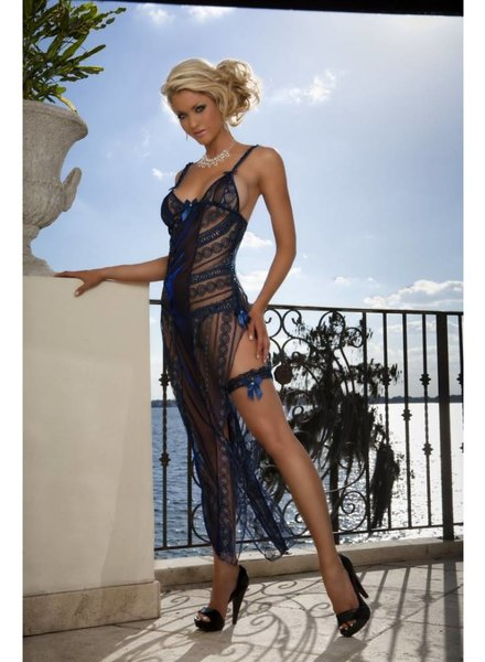 G World Intimates Sexy Bachelorette Dress (blue)