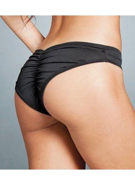 Espiral Lingerie Gerimpeld broekje (black)