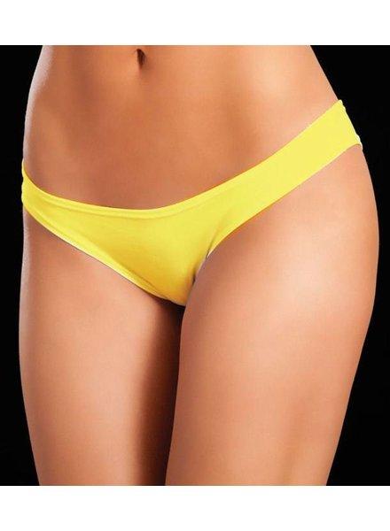 Espiral Lingerie Mini broekje (neon yellow)