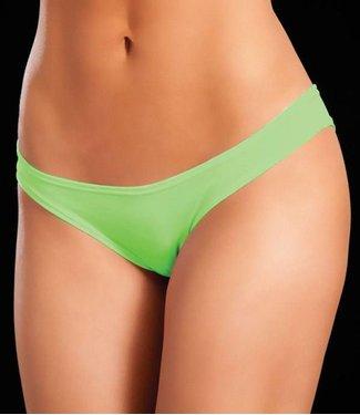 Espiral Lingerie Mini broekje (neon green)