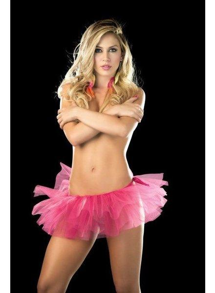 Espiral Lingerie Sexy tutu (pink)