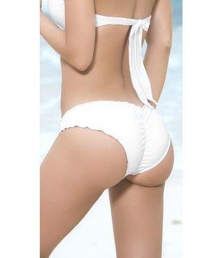 Espiral Lingerie Ruffle bikini broekje (wit)