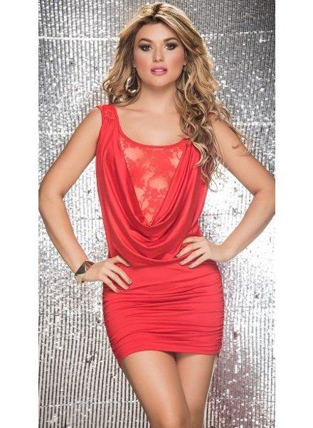 Espiral Lingerie Rood jurkje met kant