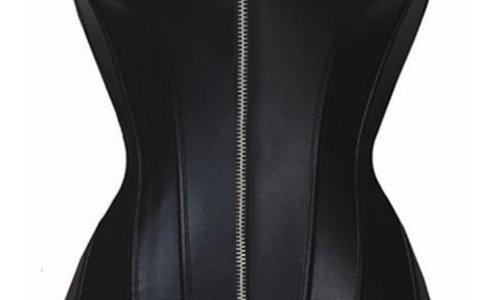Leatherlook Corsetten