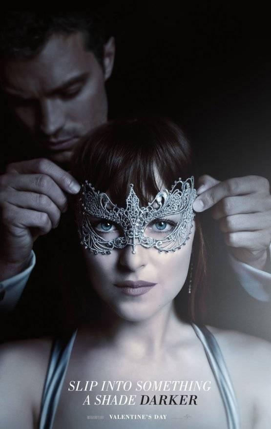 '50 Shades Darker' masker