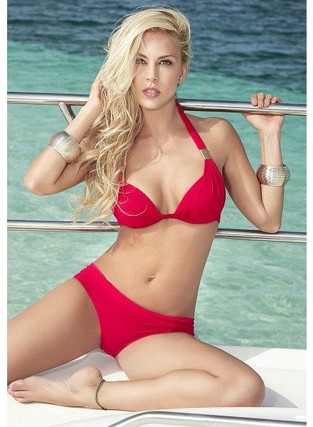 Espiral Lingerie Rode halter bikini