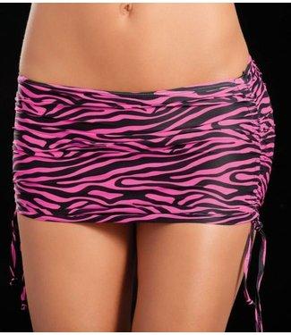 Espiral Lingerie Verstelbaar rokje (zebra pink)