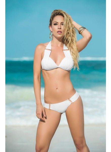 Espiral Lingerie Witte halter bikini