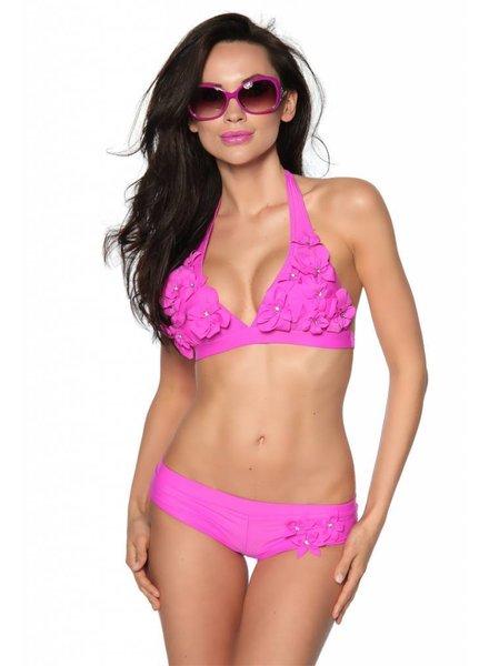 LivCo Corsetti Roze bikini met bloemetjes