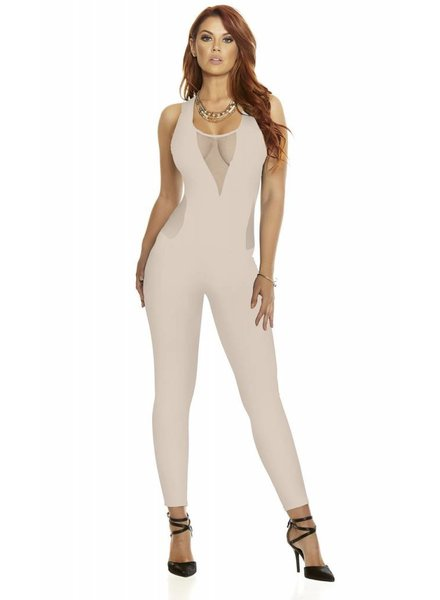 Forplay Nude jumpsuit