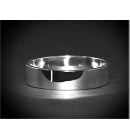 zilveren armband: small plain