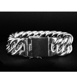 zilveren armband: solid