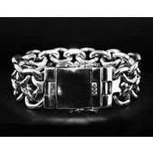 zilveren armband: new bismarck