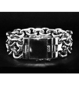 zilveren armband:new bismarck