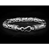 zilveren armband: king chain